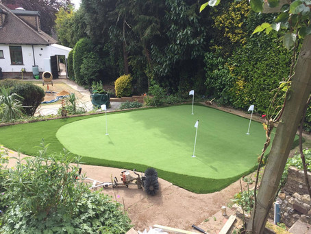 Perfectly Green Artificial Grass Chorleywood