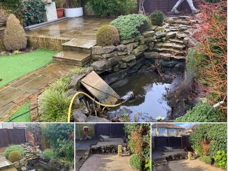 Removal Of Garden Pond Watford