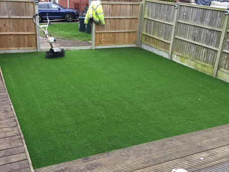 Artificial Grass installed South Oxhey