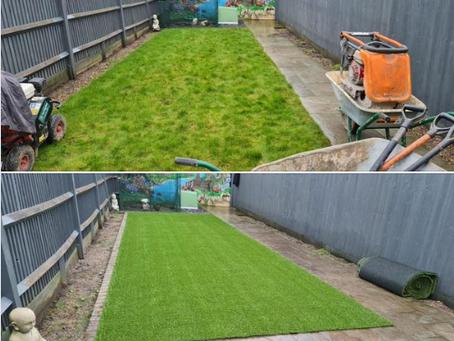 New Artificial Grass At Croxley Green
