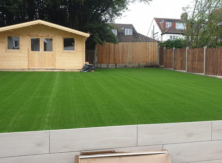Perfectly Installed Artificial Grass