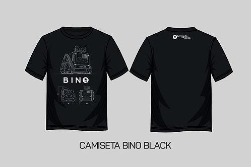 Camiseta Bino - Cor Preta