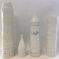 Porcelain Cylinders