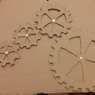 Poppy's Cogs - So thoughtful and careful - What skills!