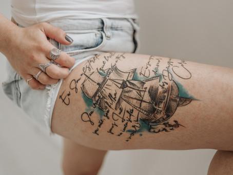 Guia completo de cuidados pós tattooo