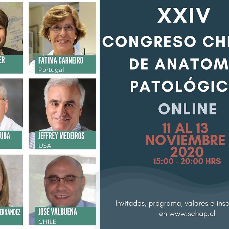 XXIV Congreso Chileno de Anatomía Patológica ONLINE