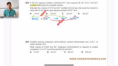 01 Mole Concept, Redox & Stoichiometry (
