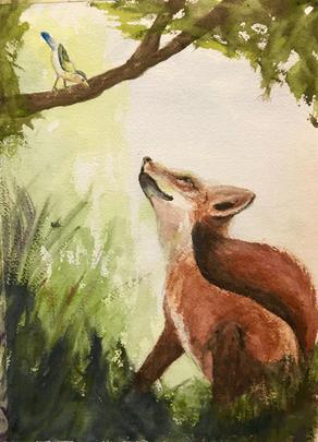 Jack's Friendly Fox