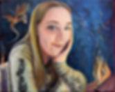 """""""Erin"""", oil on canvas"""