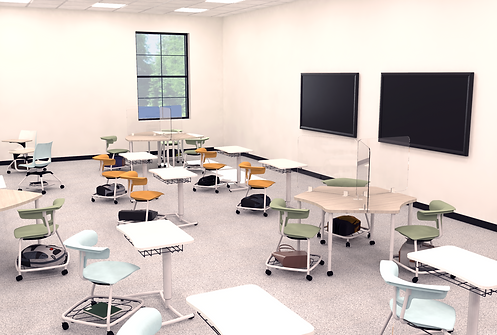 K-12 covid19 response R1- classroom rend