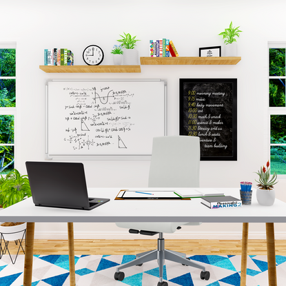 Setup Your Learning and Teaching Spaces At Home
