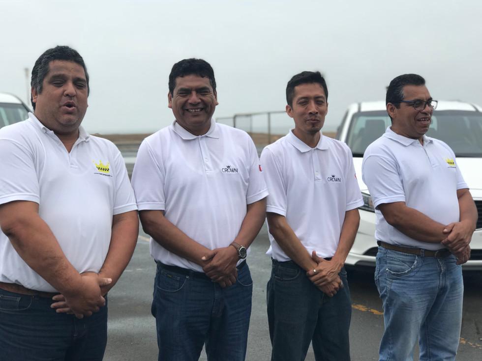 Carlos, Pedro, Oscar & Marcos