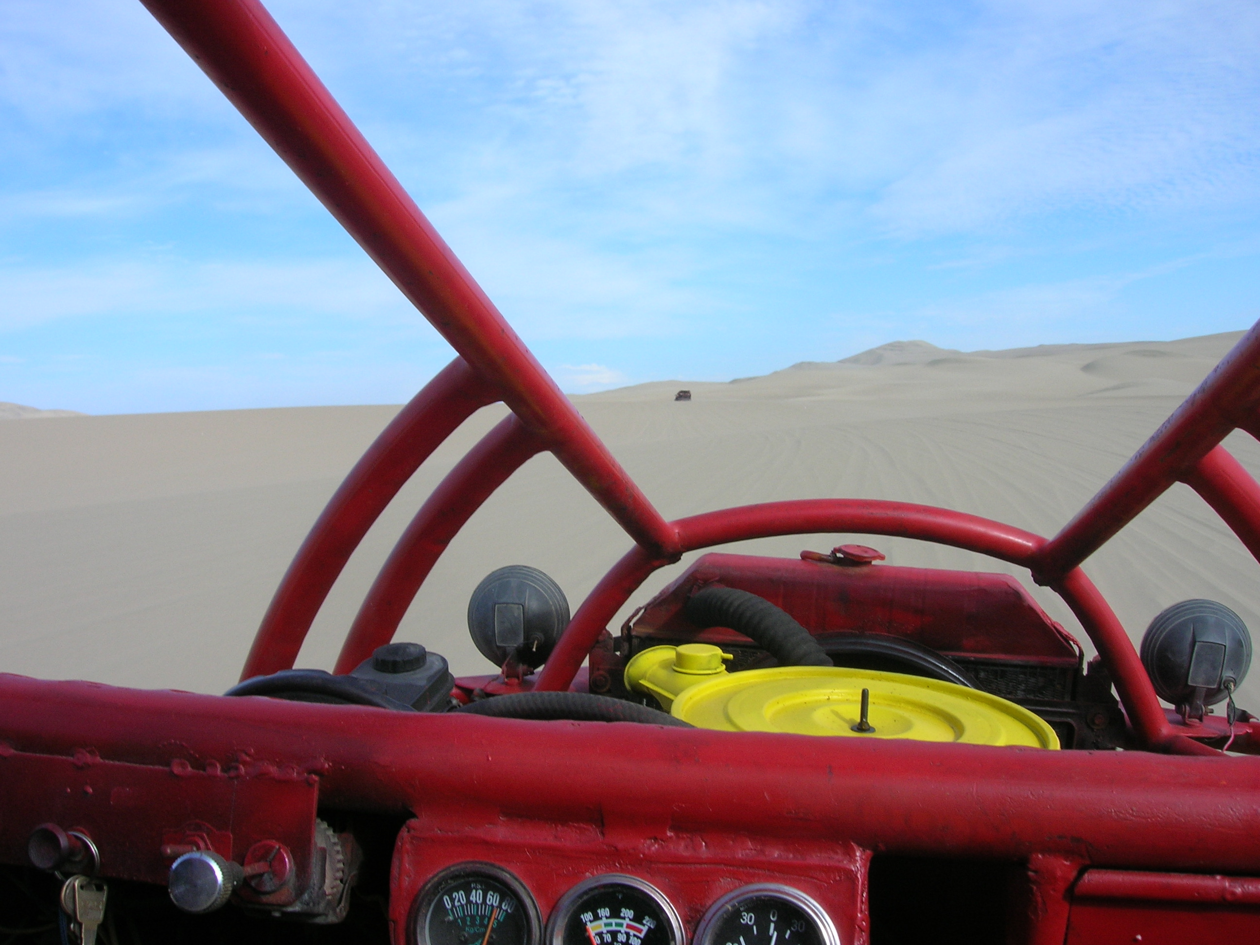 awesome dune buggy ride!
