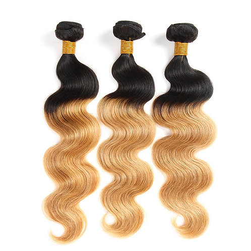 OMBRE BODY WAVE BLONDE