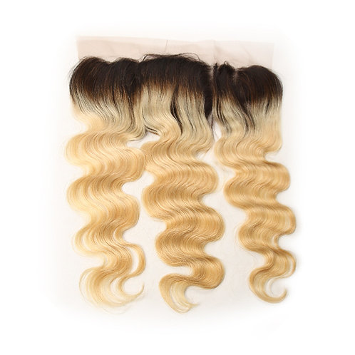 BLONDE BODY WAVE OMBRE FRONTAL