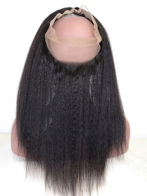 KINKY STRAIGHT 360 FRONTAL