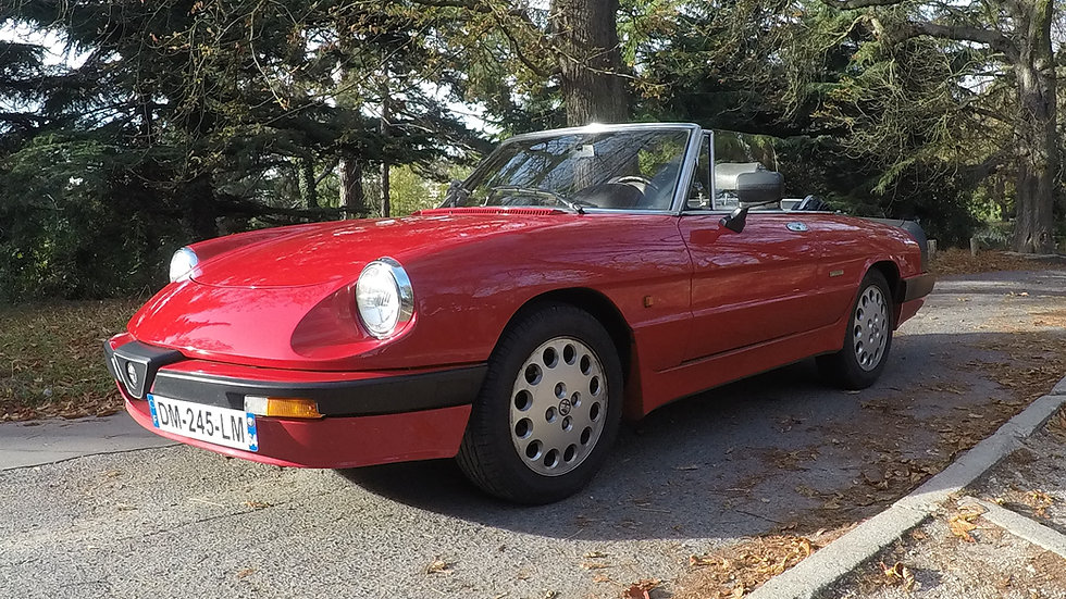 Alfa Romeo Spider 2.0 FL de 1989