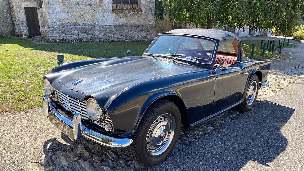 Triumph Tr4 de 1963 avec 55 000 miles certifiés