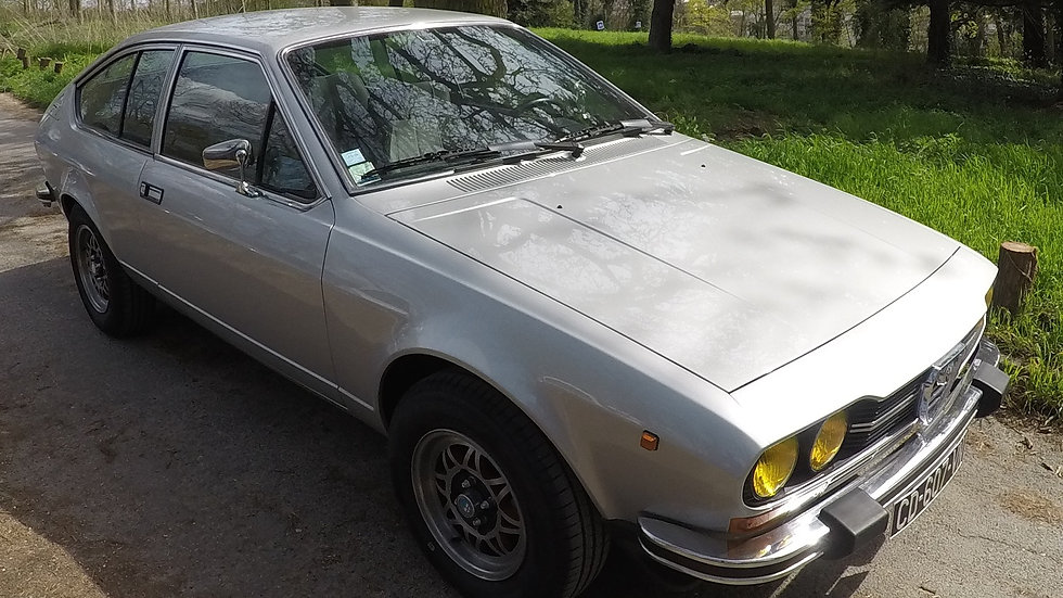 Alfa Alfetta GTV 2,0 L de 1979