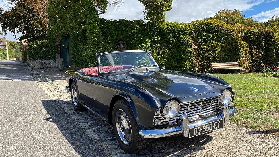 Triumph Tr4 de 1963 avec 56 600 miles certifiés