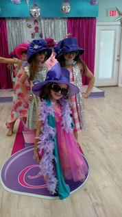Spa and dress up tea parties in Mobile, AL