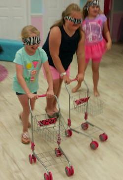 Shopville Relay Race