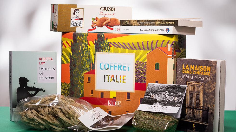 Le coffret livres - Italie