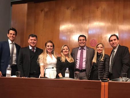 AMATRA 8 prestigia posse de novos membros da Academia Brasileira de Direito do Trabalho