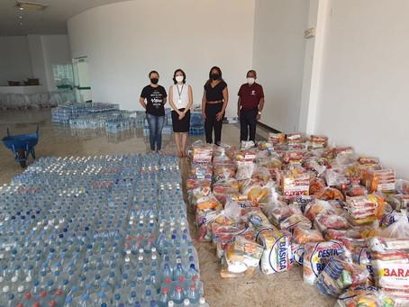 Magistrada Amapaense está à frente da distribuição de doações no estado do Amapá