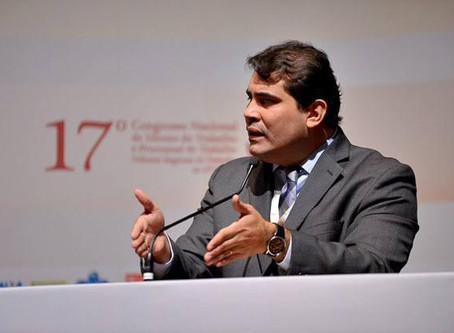 Diretor Cultural da AMATRA8, Juiz Ney Maranhão, eleito para a ABDT