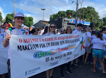 Juízes do Trabalho se mobilizam na II Marcha contra o Trabalho Infantil