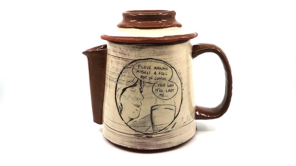 """""""Full Pot"""" Coffeepot"""