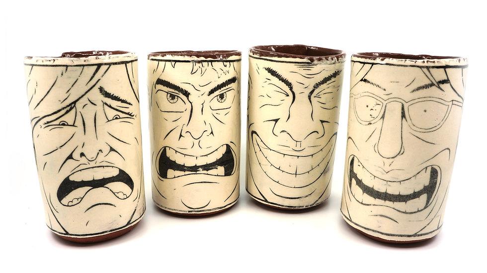 Tiki Cup Set