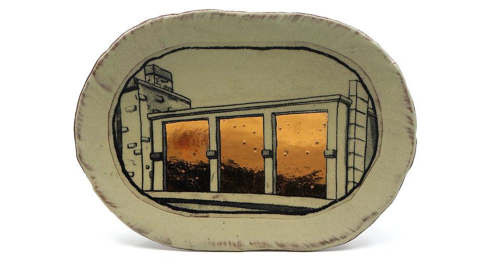 """""""Rooftop Windows"""" Sandwich Plate"""