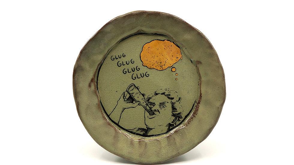 """""""Glug Glug Glug"""" Snack Plate"""