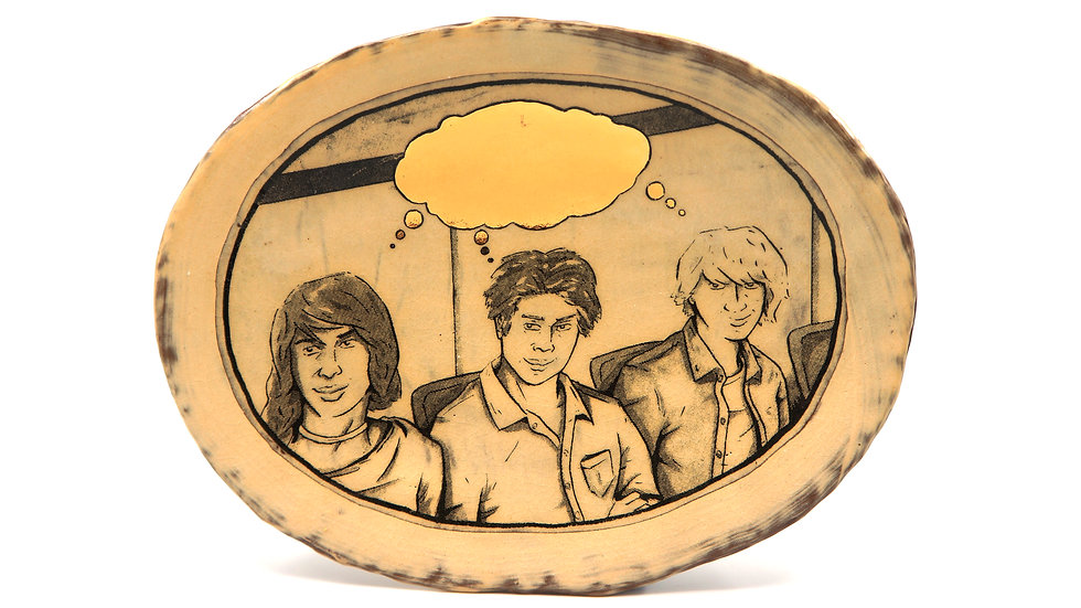 """""""Thinking Trio"""" Lunch Plate"""