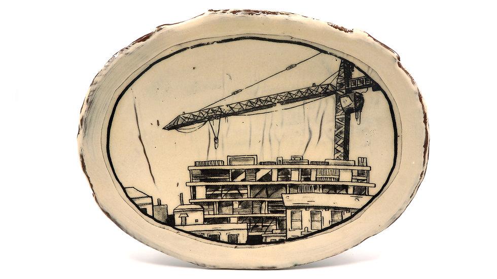 """Crane"" Lunch Plate"