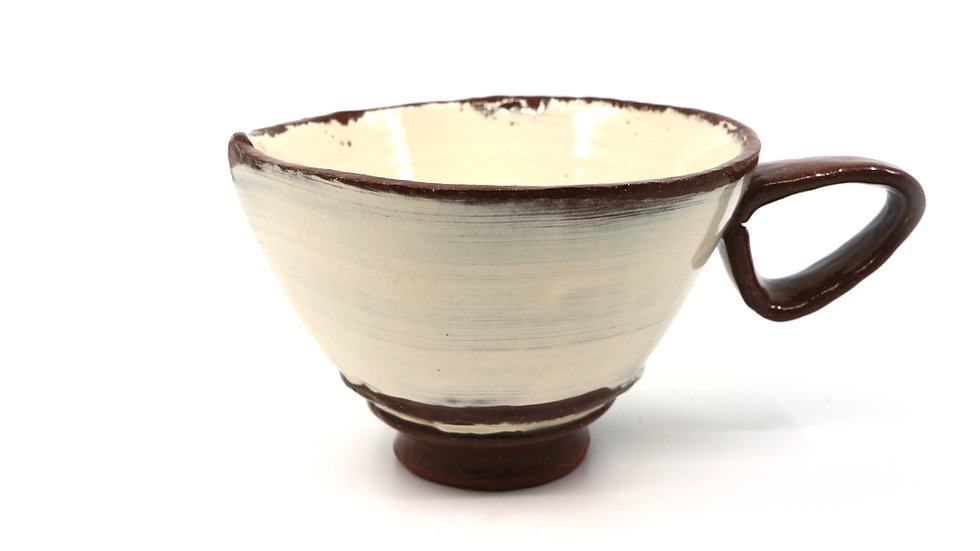 """Ready"" Cappuccino Mug"