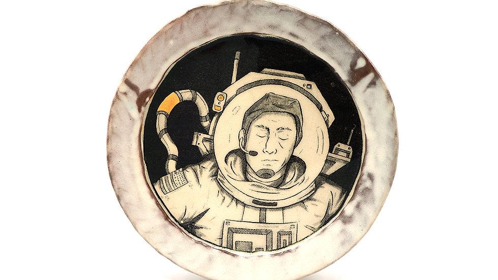 """Astronaut"" Salad Plate"