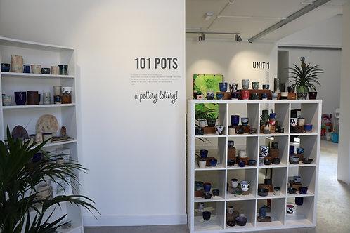 101 POTS - IT'S A POTTERY LOTTERY 2021