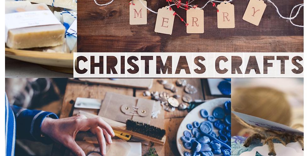 DIY Christmas Artisan Crafts - Adult Art Workshop: 10th November