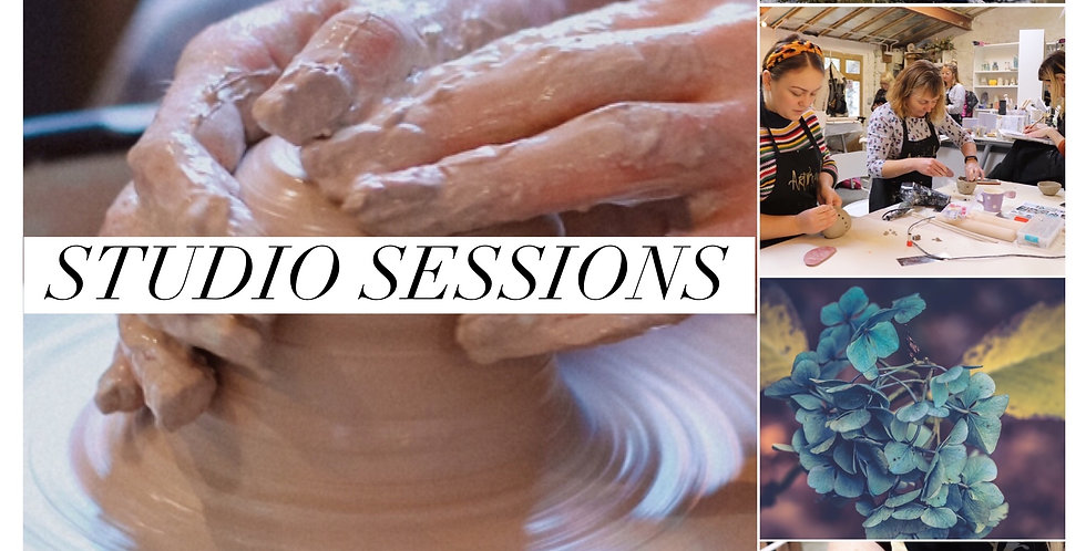 ★ Brand New Workshop January 2021 - Clay Studio Sessions: 26th October 2019