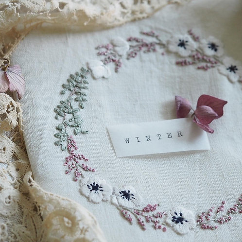 Hand Stitched Christmas:  4thDecember