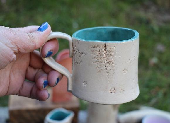 Handbuilt wobble Mug