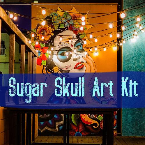Sugar Skull Art Kit