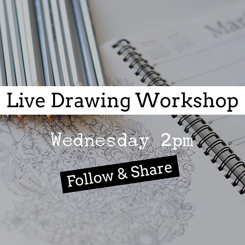 Free Live Drawing: Register here