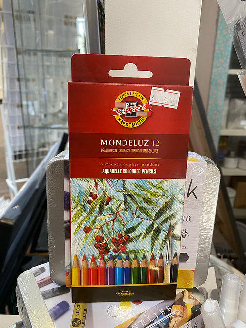 24 Watercolour Pencils