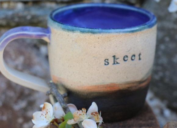 Thrown Stoneware Mug - Skeet