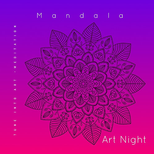 Sacred Mandala: Painting Workshop for Adults: Art Night: 19th March