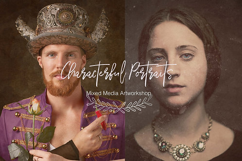 Characterful Portraits - Mixed Media Art Night @ NOA BAKEHOUSE: May 6th